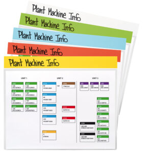 3L Index Signage Pockets, Repositionable