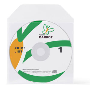 Non-adhesive CD/DVD Pockets - Biodegradable