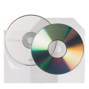 Non-adhesive CD-DVD Pockets