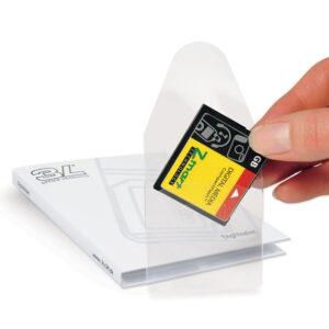 Self-adhesive Memory Card Pockets